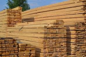 Обрезная деревянная доска