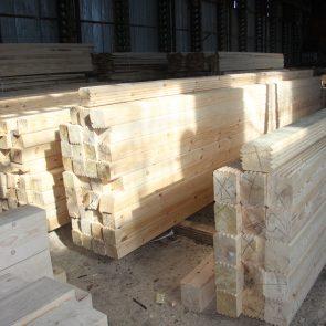 В чём измеряют деревянный погонаж